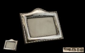 Elizabeth II - Nice Quality Rectangular Shaped Sterling Silver Photo Frame,