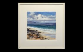 Framed Watercolour by David Rust.