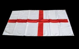 "English Flag 60"" x 35"", please see photographs. A/F."