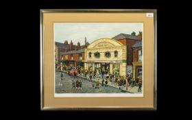 Tom Dodson 1910 - 1911 Artist Signed Ltd and Numbered Edition Coloured Print - Titled ' Saturday