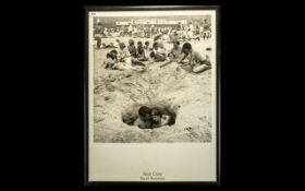 Vintage Ralph Crane Print 'Beach Romance'.