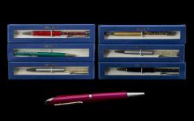 Collection of New Swarovski Pens,