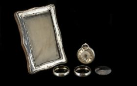 Collection of Hallmarked Silver.