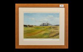 Golf Interest - Print of Royal Birkdale
