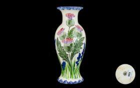 Scottish Waterhouse Pottery Thistle Vase