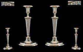 Queen Elizabeth - Pair of Solid Silver R