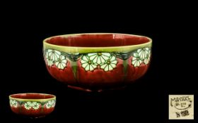 Minton No 32 Secessionist Footed Bowl. c