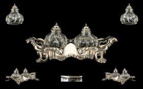 Mid Victorian Superb Quality Ornate Silv
