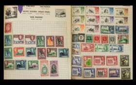 A Green Spring Back Stanley Gibbons Swif
