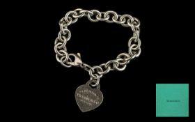 Tiffany & Co Sterling Silver Bracelet wi