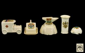 Collection of Crested Ware to include Wi
