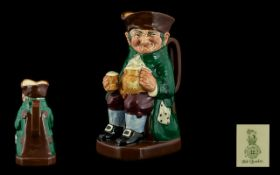 Royal Doulton - Superb and Early Hand Painted Toby Jug ' Old Charlie ' D6030. Designer Harry Fenton.