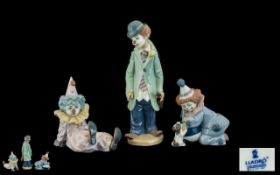 Lladro - Porcelain Figurines ( 3 ) In To