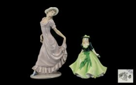 Royal Worcester 'Holly' Figurine dated 2