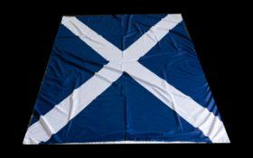 "Scottish Flag 46"" x 80"". In good conditi"
