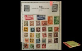 Old Abbey Stamp Album Containing Many Hundreds of High Value Stamps.