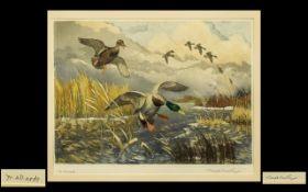 Winifred Austen Artist's Proof Tinted Et