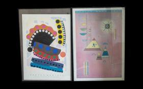 Two Large Art Prints.