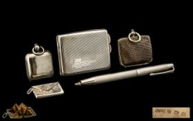 A Collection of Antique Sterling Silver Items ( Small ) ( 5 ) Pieces In Total.