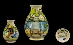 Moorcroft - Excellent Modern Signed Ltd and Numbered Edition Vase ' Friars Crag ' Lake District,