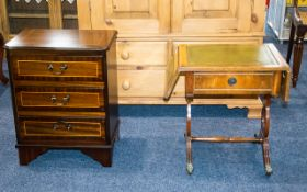 Leather Topped Occasional Table with single drawer to front,