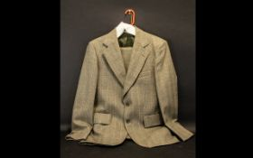 Gentleman's Wool Suit Tailored by Magee for Clarksons of Chorley. Approx size 40'' Chest, Waist