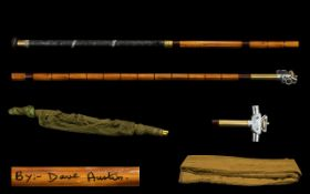 Traditional Richard Walker Style Carp Landing Net by Dave Watson with Superior Richard Walker