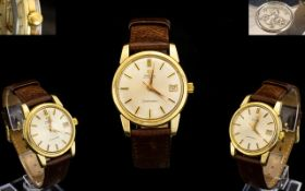 Omega Seamaster Automatic Gents Gold Plated Wrist Watch. c.1970's.