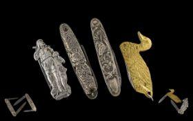 Joseph Feist - Solingen 1898 - 1925 Rare Novelty Figural Folding Pocket Penknife,