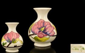 Moorcroft Tube lined Globular Shaped Vas