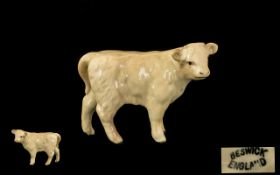 Beswick Farm Animal Figure 'Charolais Ca