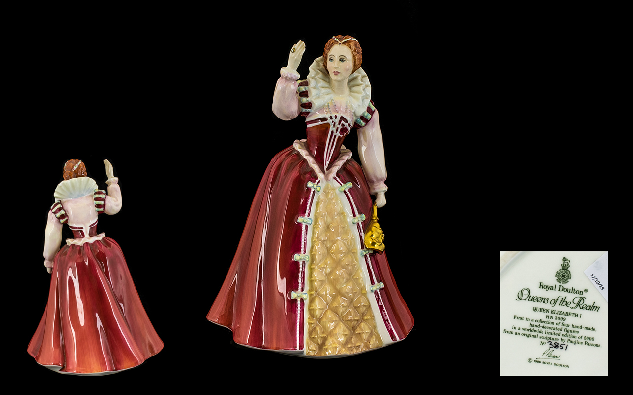 Lot 424 - Royal Doulton Ltd and Numbered Edition P