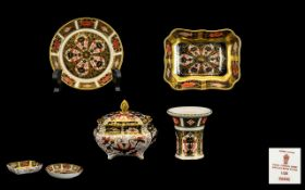 Royal Crown Derby Collection of Old Imar
