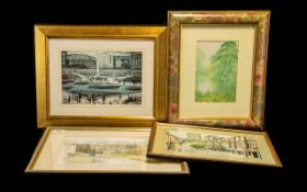 Collection of Framed Prints four in total,