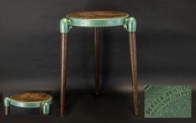 GERALD SUMMERS (1899-1967) Stool, Designed 1954,