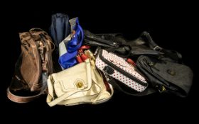 Large Collection of Handbags,