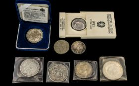 Small Mixed Lot of Coins to include a San Marino Olympic 2000 coin in case,