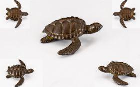 Chinese Bronze Turtle.