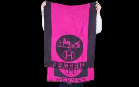 Hermes of Paris Winter Scarf.
