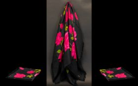 Vintage Silk Shawl/Scarf by Roy Thirkell of Bond Street.