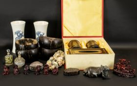 A Good Modern Collection Of Oriental Items.
