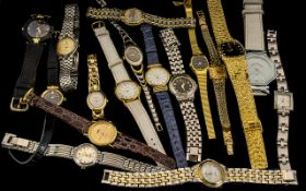 Large Collection Of Ladies Watches.