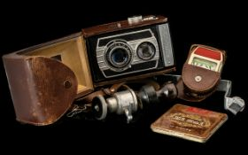 Vintage Weltaflex Camera in leather case