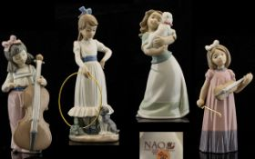 Nao by Lladro Collection of Four Figures