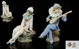 Nao by Lladro Pair of Figures comprising