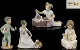 Nao by Lladro Collection of Young Childr