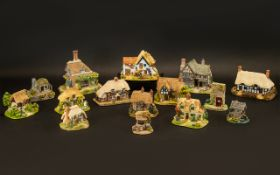 Collection of Lilliput Lane Cottages. C