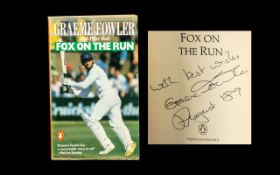 Signed Book by Graeme Fowler 'Fox on the