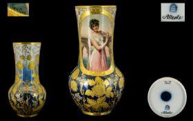 Royal Vienna Porcelain Factory Superb Qu