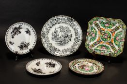 Collection of Assorted Cabinet Plates to